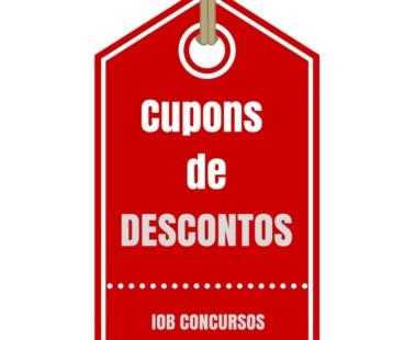 Cupom de Desconto e Vale Compras IOB Concursos