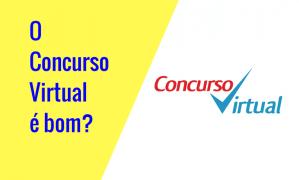 O Concurso Virtual é bom?  Vale a pena?